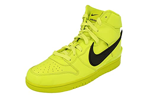 Nike Dunk Hi/Ambush Hombre Trainers CU7544 Sneakers Zapatos (UK 9 US 10 EU 44, Atomic Green Black Flash Lime 300)