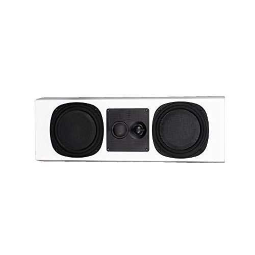 Great Deal! PhaseTech PC3.5 White Center Channel Speaker 250W 4Ohm Home Audio