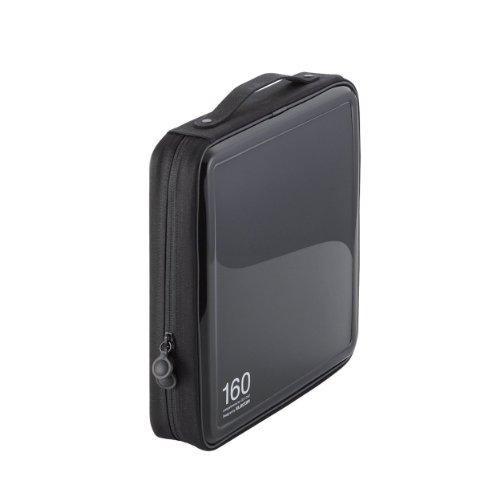 CD/DVDファスナーケース 160枚収納 CCD-H160