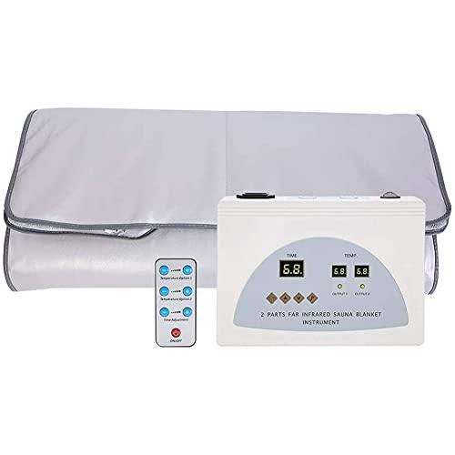 Manta de sauna de calefacción por infrarrojos manta de vapor,manta de sauna de vapor de casa,manta de drenaje de calefacción salón de belleza,promoción de la circulación sanguínea,modelando la figur