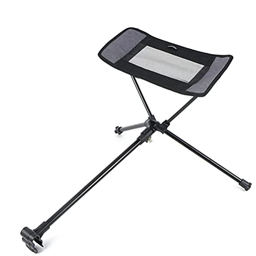 Silla plegable para acampar al aire libre, reposapiés, reclinable portátil, perezoso, soporte patas, extensión retráctil, taburete piernas, kit de actualización silla Moon, y fácil almacenar