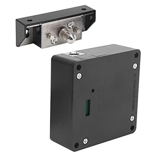 Cerradura antirrobo, cerradura para armario Metal y plásticos ABS Alimentación por batería Cerradura oscura con detección de largo alcance para cerradura para caja fuerte Cerradura para