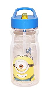 Zak Designs Minions 16 oz. Water Bottle with Straw, Stuart (B00S4NH7Y2)   Amazon price tracker / tracking, Amazon price history charts, Amazon price watches, Amazon price drop alerts