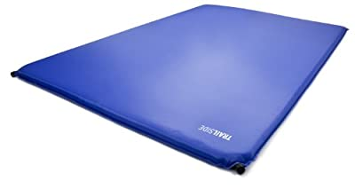 Trailside TrailRest Double-Wide Self-Inflating Mattress, 72x48x3-Inch/X-Large