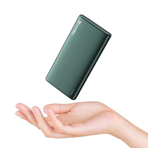 Power Bank da 10000 mAh con Doppia Uscita(2.0A+2.0A) e Ingressi ad Alta Velocità, Caricatore Portatile Coolreall per Ricarica Rapida, Compatibile con Vari Telefoni Cellulari, iPad, Laptop, ECC.