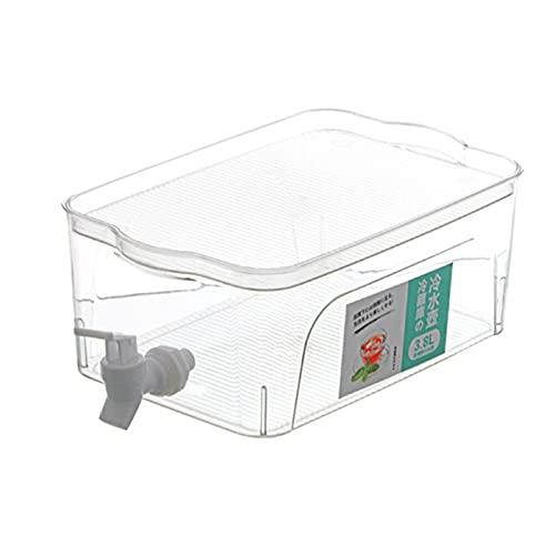Hervidor de agua fría - grifo, nevera, hogar, gran capacidad, botella de agua fría, té de frutas de limón cubo frío, esencial de verano