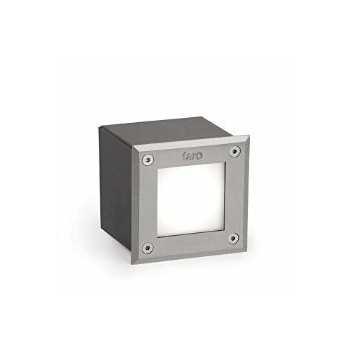 Faro Barcelona 71499N - Empotrable (bombilla incluida) LED, 3W, acero inoxidable y...