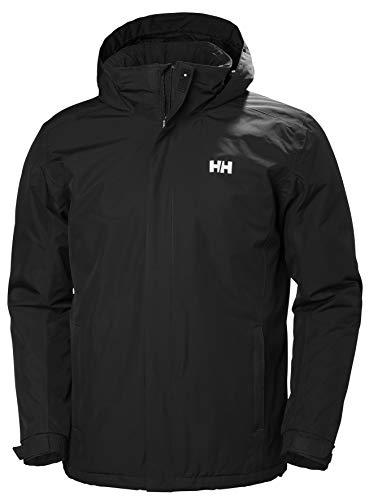 Helly Hansen Herren DUBLINER Insulated Jacket Winterjacke, 990 Black, 2XL