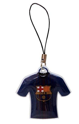 FCB FCBARCELONA Colgante para móvil Camiseta de FC Barcelona Accesorios Decorativos Tiempo Libre y Sportwear Unisex Infantil, Multicolor (Multicolor), Talla Única