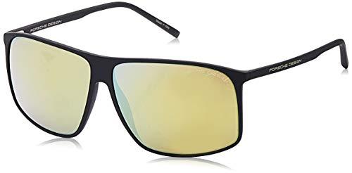 Porsche Design Sonnenbrille P8594 A 62 12 140 Rechteckig Sonnenbrille 62, Schwarz