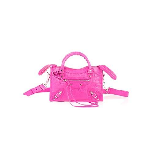 Balenciaga Luxury Fashion Donna 300295D94JN5561 Fucsia Pelle Borsa A Mano | Primavera-estate 20