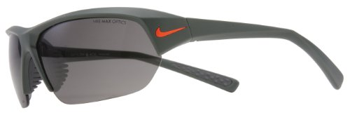 NIKE Skylon Ace Gafas de sol (Matte Green (Orange Swoosh) Marco, Gris...