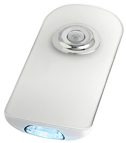 TFA Dostmann LUMATIC Guard multifunctionele led-veiligheidslamp, 43.2034.02 lamp, wit 60 x 28 x 132 mm