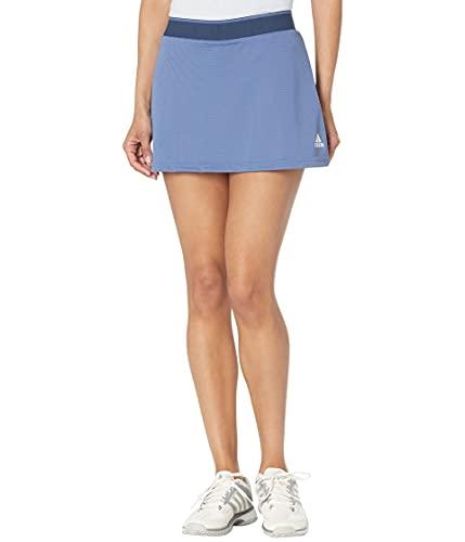 adidas,Womens,Club Skirt,Crew Blue/White,X-Small