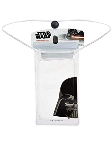 LA CASA DE LAS CARCASAS Funda Acuática Disney Oficial Darth Vader Transparente
