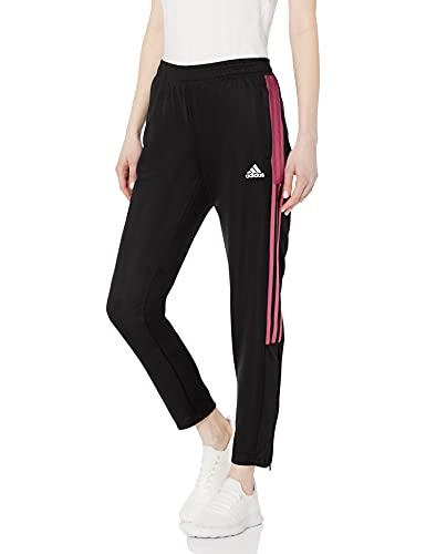 adidas Womens Tiro Track Pant Black/Wild Pink XX-Small
