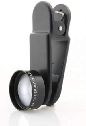 SYSTEM-S Tulsa Mall 3X Magnification Lens with Clip Protective case in and Max 57% OFF