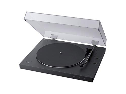 Sony PS-LX310BT Belt Drive Turntable: Fully Automatic Wireless Vinyl Record Player with Bluetooth and USB...