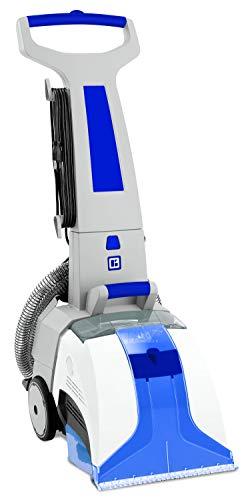 Amazing Deal Koblenz Deep Cleaning Machine Carpet and Hard Floor Extractor, White/Blue