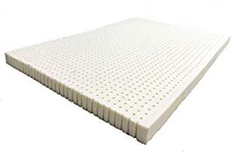 All-Natural GOLS-Certified Organic Latex Mattress Topper - 2 Inch Thick, Queen Size, Medium Firm with Premium Organic Cotton Cover - Superior Pressure Relieving, Durable, Pure Materials