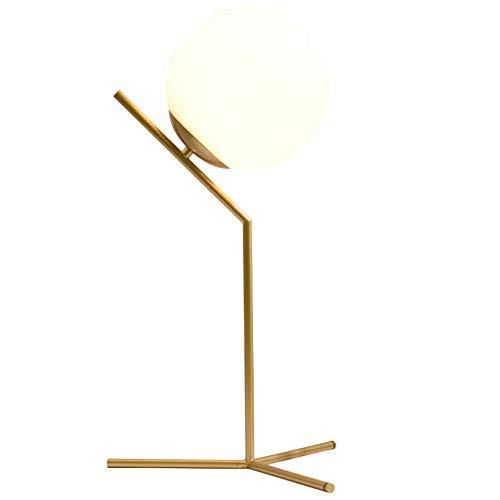 Lámpara de Mesa de la Bola de Cristal