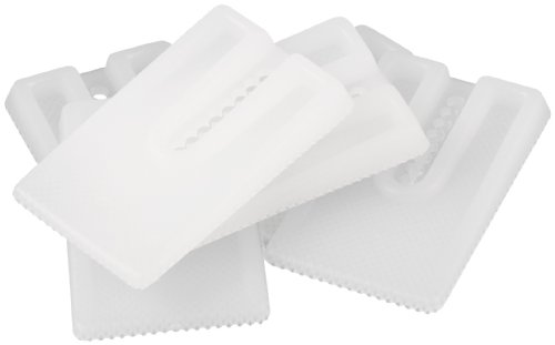 SoftTouch Furniture Leveling Wedges (6 pieces), White