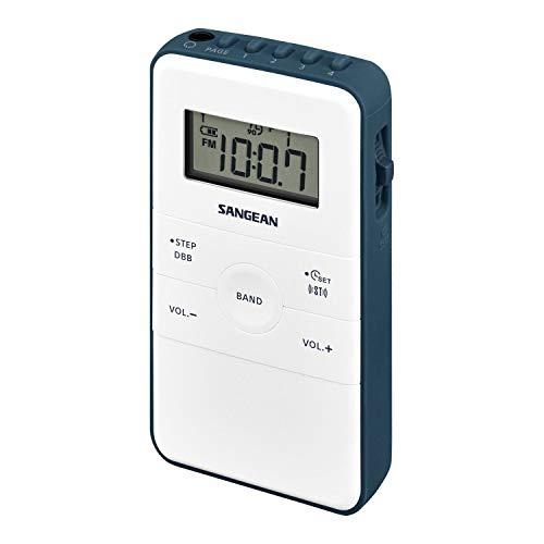 Radio Sangean Pocket 140 Blanco/Azul - Radio - Los Mejores Precios