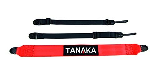 Tanaka Racing Style Cross Body Universal Duffel Bag/Camera Strap (Red)