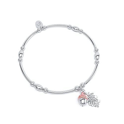 Clogau Royal Oak Leaf Affinity Bead Bracelet