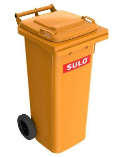 Sulo 80 L Mülltonne Abfalltonne Müllbehälter orange