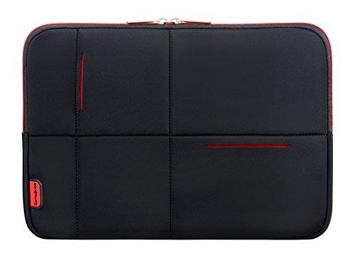 Samsonite - Airglow Sleeves 14.1 Zoll, Umhängetasche, 36 cm, 4 L, Black/Red
