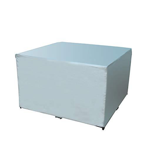 Preisvergleich Produktbild XUEYAN Wasserdichter und staubdichter Bezug,  Outdoor-Rattanstuhl,  Sofa,  Tisch- und Stuhlbezug,  Regenschutz (Farbe : Gray,  größe : 100x100x85cm)