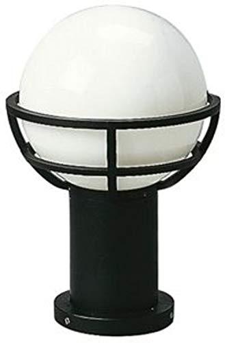 Albert Sockelleuchte, Aluminium, E27, schwarz, 0 x 0 x 40 cm