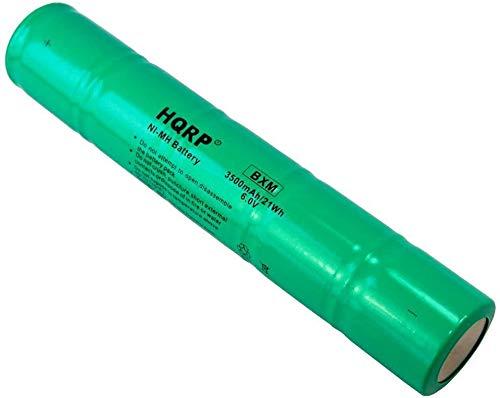 HQRP Batería para Maglite ARXX235 / ARXX075; SL20, 20170, 26000, 26060; 108-000-817, 108-817, 108-000-439, 108-439