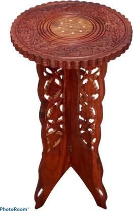 Fleurs De Rocaille Juego de 2 mesas de centro de palisandro para sala de estar (24 x 12 x 12 pulgadas)