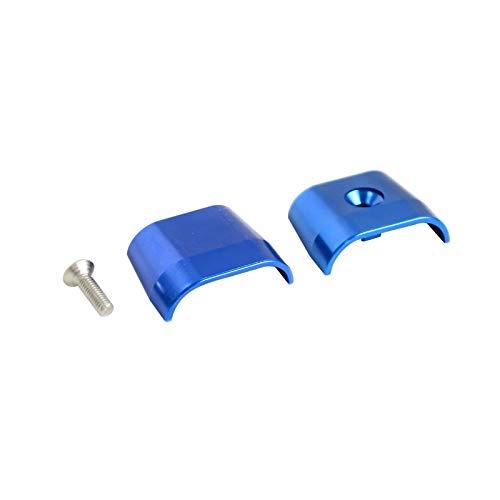 Protector de Cable del Acelerador de Motocicleta Cubierta Protector de protección para Husqvarna FE TE TC FC SM TXC 250 350 449 450 501 510 511 570 610 630 (Color : Blue)