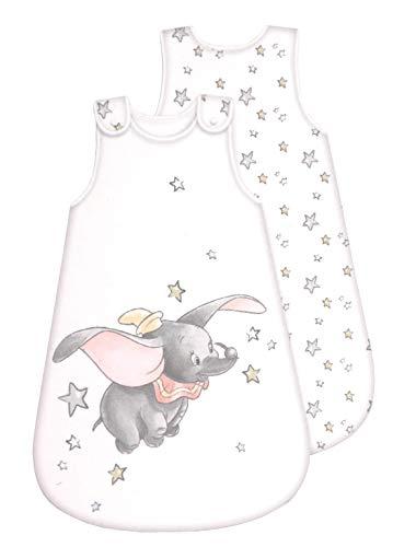 Disney Dumbo Baby Schlafsack - ganzjährig - umlaufender Reißverschluss (70 cm)