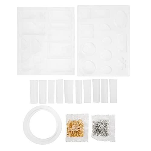 KASD Stampi per colata di ciondoli, stampi per Gioielli in Resina Silicone di qualità Durevole conveniente per Gioielli