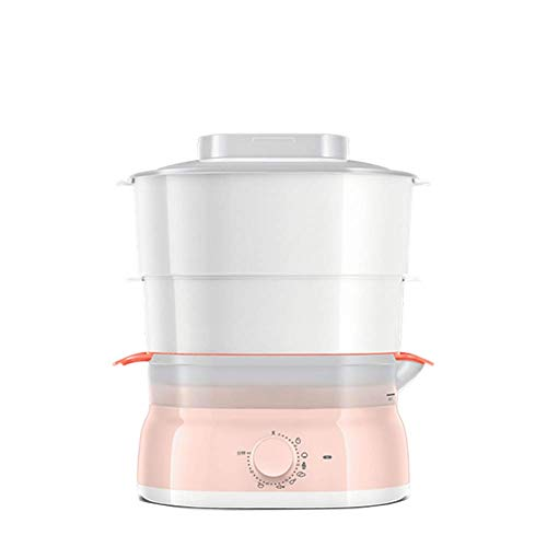 Vaporizador de vegetales de 5 litros, sin cesta apilable multifuncional de 2...