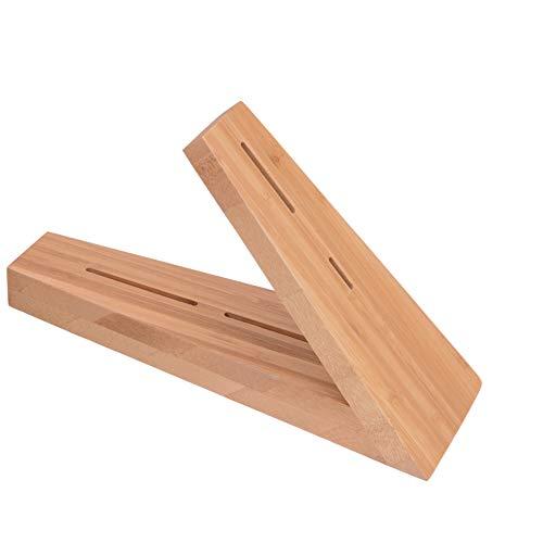 GRÄWE Messerblock für Damastmesser aus Bambus