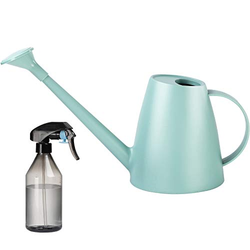 Plastic Watering Can Lightweight Long Spout Watering Pot with Handle for Indoor & Outdoor Garden House Plants and Potted Flowers (2)