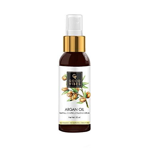 Good Vibes Anti Hairfall Vitalizing Serum, Argan Oil (50 Ml)