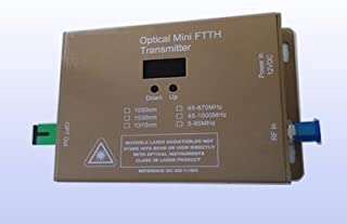 PacSatSales CATV Fiber Mini Transmitter - 10mW FTTX - Wall Mounted - 1310nm - Commercial Quality