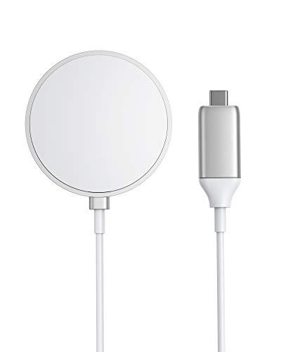 Anker PowerWave Magnetic Pad, Magnetisches kabelloses Ladepad mit integriertem USB-C Ladekabel 150cm lang, nur kompatibel mit iPhone 12/12 Pro / 12 Pro Max / 12 Mini (Netzteil Nicht inklusive)