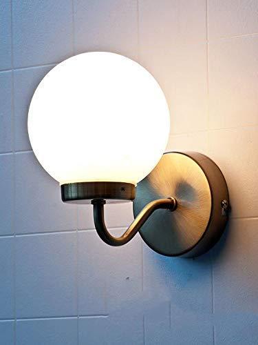 DIELUNY Edle Wandleuchte IP44 Bronze Badezimmer E14 Jugendstil Wandlampe Badlampe