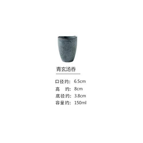 NO BRAND Vajilla de Taza de café de Agua de Taza de té de cerámica de Estilo japonés, Taza pequeña