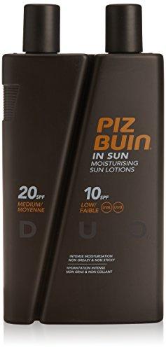 Piz Buin Duo SPF 10/SPF 20 Sun Lotion 200/100ml