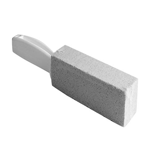 UJKIO Natural Pumice Stone Toilets Cleaning Brush with Long Handle Stone Cleaner