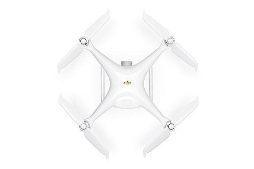"""DJI Phantom 4 Pro V2.0 - Drone Quadcopter UAV with 20MP Camera 1"""" CMOS Sensor 4K H.265 Video 3-Axis Gimbal White (Renewed)"""