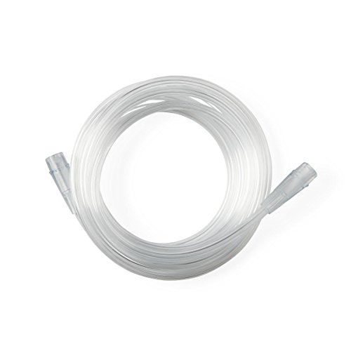 Medline Oxygen Tubing, Standard Connector, Latex Free, 7